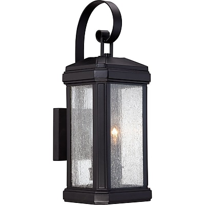 Quoizel TML8407K Incandescent Wall Lantern, Mystic Black