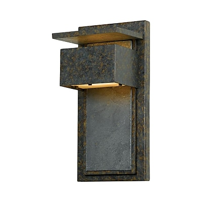 Quoizel ZP8414MD Halogen Wall Lantern, Muted Bronze