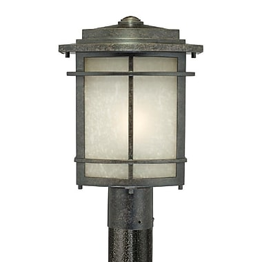 Quoizel GLN9010IB Imperial Bronze Post Lantern, Fluorescent