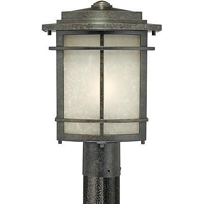 Quoizel GLN9010IBFL Imperial Bronze Post Lantern, CFL