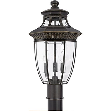 Quoizel GT9294IB Incandescent Post Lantern, Imperial Bronze