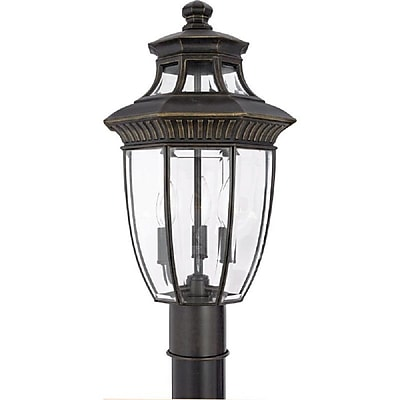 Quoizel GT9294IB Incandescent Post Lantern, Imperial Bronze