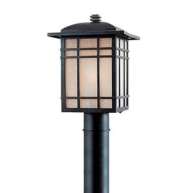 Quoizel HC9011IB Imperial Bronze Post Lantern, Incandescent