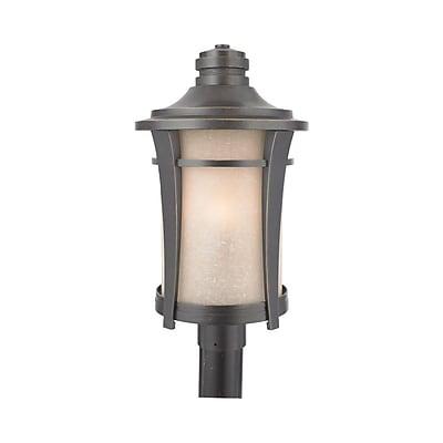 Quoizel HY9011IB Incandescent Post Lantern, Imperial Bronze
