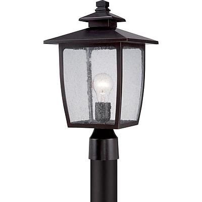 Quoizel BRY9009PNFL Palladian Bronze Post Lantern, CFL
