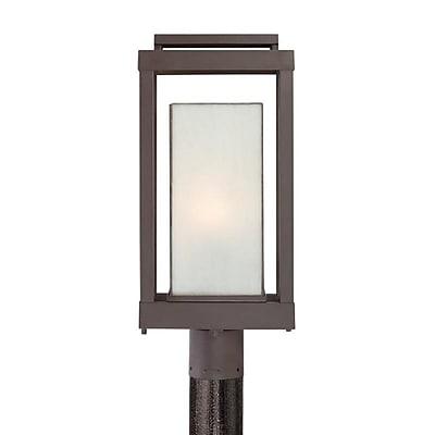 Quoizel PWL9009WT Western Bronze Post Lantern, Incandescent
