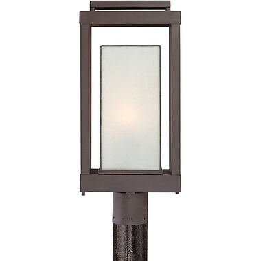 Quoizel PWL9009WTFL Western Bronze Post Lantern, CFL
