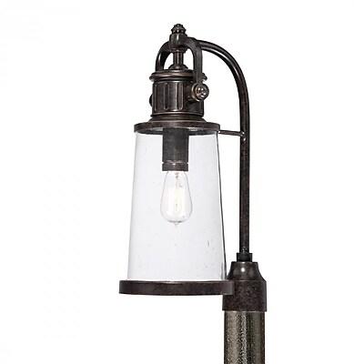 Quoizel SDN9008IB Imperial Bronze Post Lantern, Incandescent