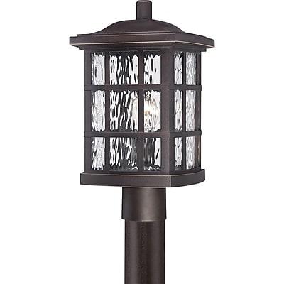 Quoizel SNN9009PN Palladian Bronze Post Lantern, Incandescent
