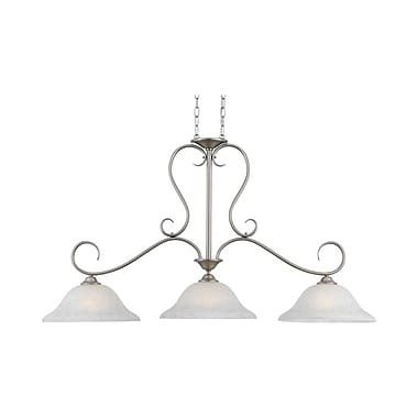 Quoizel DH348AN Incandescent Island Light, Antique Nickel