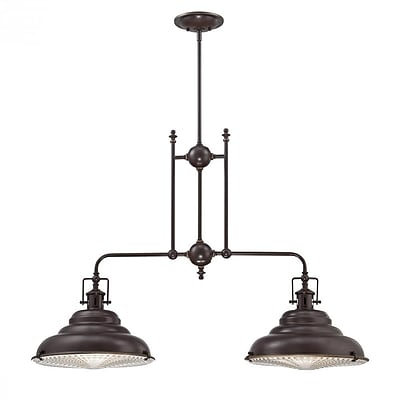 Quoizel EVE240PN Incandescent Island Light, Palladian Bronze