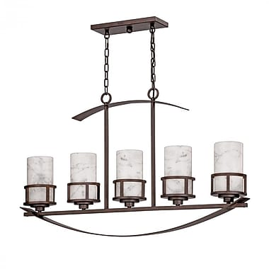 Quoizel KY540IN Incandescent Island Light, Iron Gate
