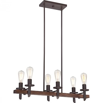 Quoizel TVN232DK Incandescent Island Light, Darkest Bronze