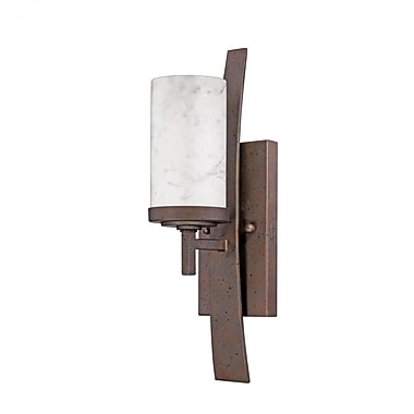 Quoizel KY8701IN Incandescent Wall Sconce, Iron Gate