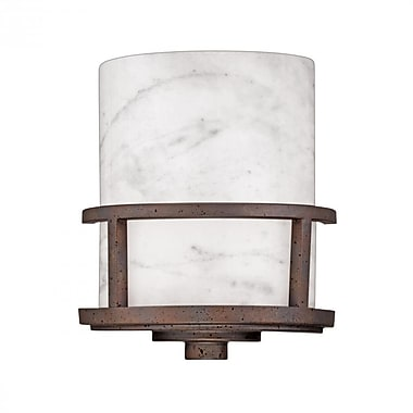 Quoizel KY8801IN Incandescent Wall Sconce, Iron Gate