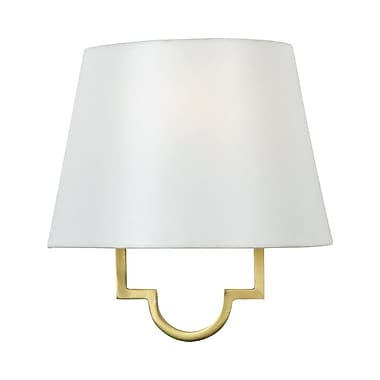 Quoizel LSM8801GY Incandescent Wall Sconce, Gallery Gold