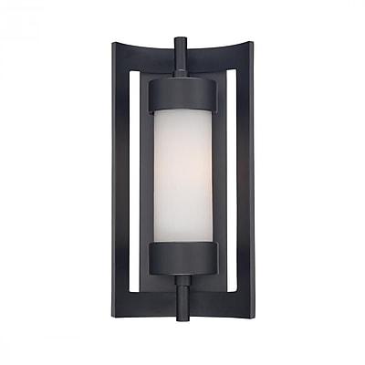 Quoizel MLN8307K Incandescent Wall Lantern, Mystic Black