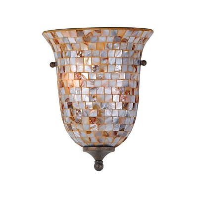 Quoizel MY8801ML Incandescent Wall Sconce, Malaga