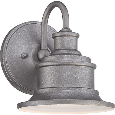 Quoizel SFD8407GV Incandescent Wall Lantern, Galvanized
