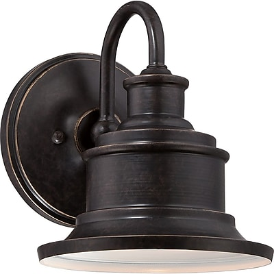 Quoizel SFD8407IB Incandescent Wall Lantern, Imperial Bronze