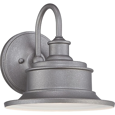 Quoizel SFD8409GV Incandescent Wall Lantern, Galvanized