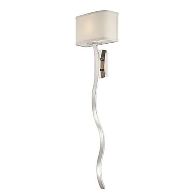 Quoizel UPHL8701IS Incandescent Wall Sconce, Imperial Silver
