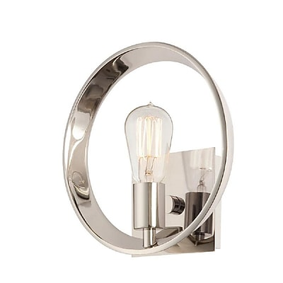 Quoizel UPTR8701IS Incandescent Wall Sconce, Imperial Silver