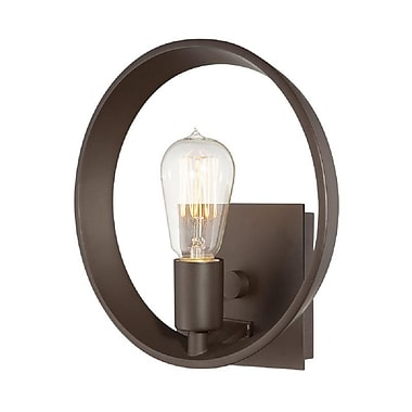 Quoizel UPTR8701WT Incandescent Wall Sconce, Western Bronze