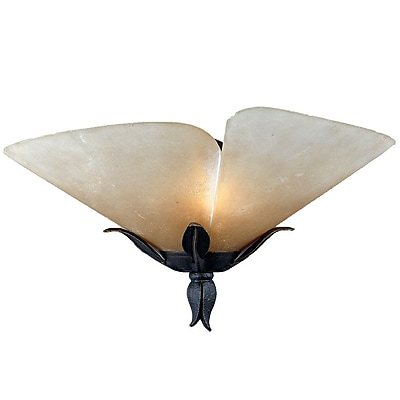 Quoizel YU8710IB Incandescent Wall Sconce, Imperial Bronze