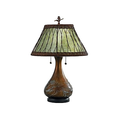 Quoizel MC120T Incandescent Table Lamp, Bronze