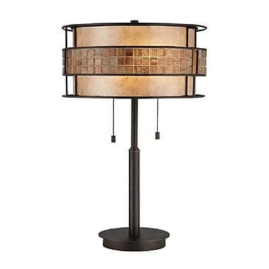 Quoizel MC842TRC CFL Table Lamp, Renaissance Copper