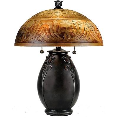 Quoizel QJ6781TR Incandescent Table Lamp, Teco Rossa