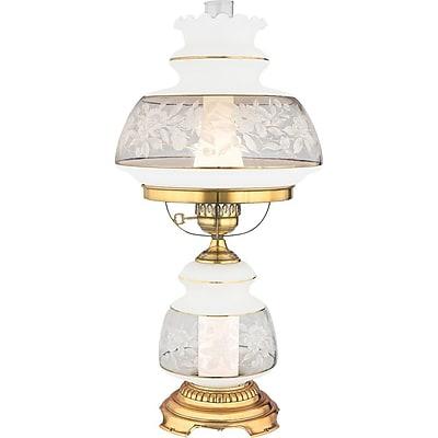 Quoizel SL703G Incandescent Table Lamp, Gold Polished Flem
