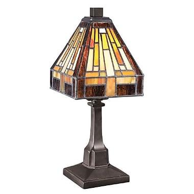 Quoizel TF1018TVB Incandescent Table Lamp, Vintage Bronze