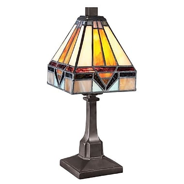 Quoizel TF1021TVB Incandescent Table Lamp, Vintage Bronze