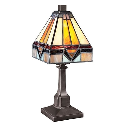 Quoizel TF1021TVB Incandescent Table Lamp, Vintage Bronze
