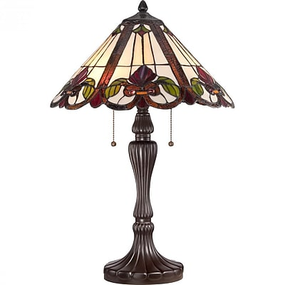 Quoizel TF1425TWT CFL Table Lamp, Western Bronze