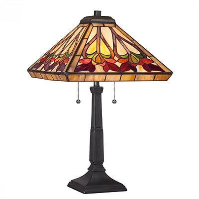 Quoizel TF1509TVB CFL Table Lamp, Vintage Bronze