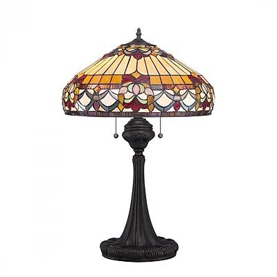 Quoizel TF1511TVB CFL Table Lamp, Vintage Bronze