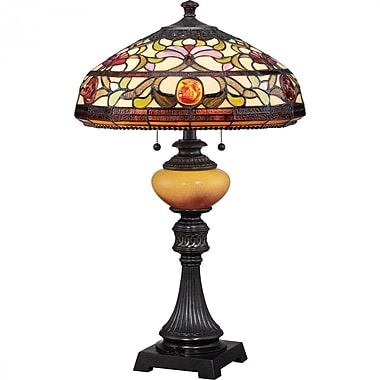 Quoizel TF1575TIB CFL Table Lamp, Imperial Bronze