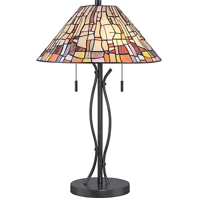 Quoizel TF1693TVK CFL Table Lamp, Oil Rubbed Bronze