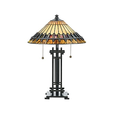 Quoizel TF489T Incandescent Table Lamp, Bronze Patina
