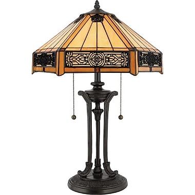 Quoizel TF6669VB Incandescent Table Lamp, Vintage Bronze