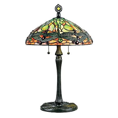 Quoizel TF6784VB Incandescent Table Lamp, Vintage Bronze