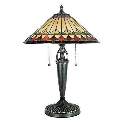Quoizel TF6821VB Incandescent Table Lamp, Vintage Bronze