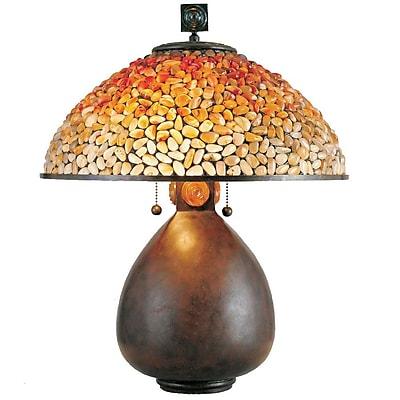 Quoizel TF6825CN Incandescent Table Lamp, Cinnamon