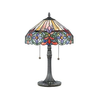 Quoizel TF6826VB Incandescent Table Lamp, Vintage Bronze