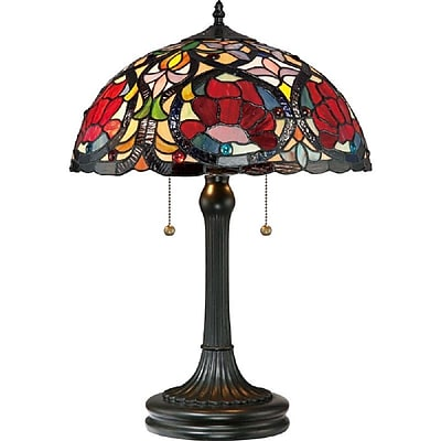 Quoizel TF879T Incandescent Table Lamp, Vintage Bronze