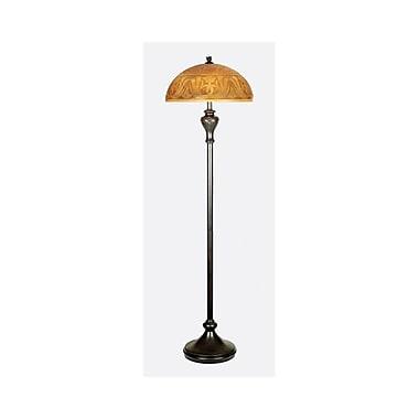 Quoizel QJF15078BTR Incandescent Floor Lamp, Teco Rossa
