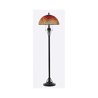 Quoizel TF135FBC Incandescent Floor Lamp, Burnt Cinnamon